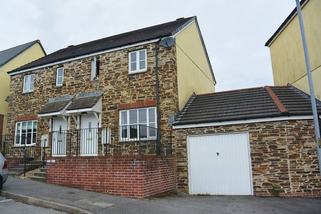 Thumbnail Semi-detached house to rent in Poltair Meadow, Penryn