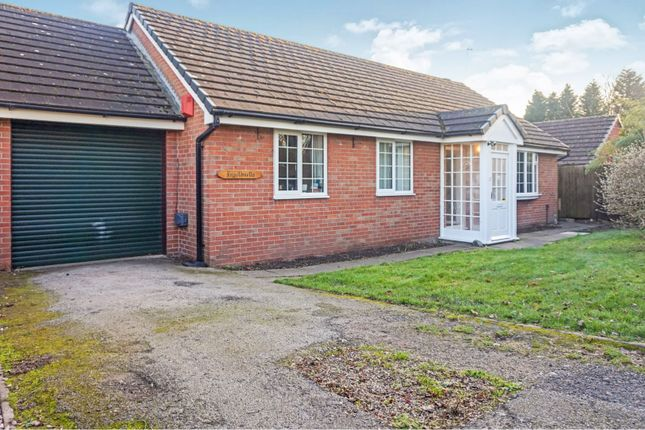 Thumbnail Detached bungalow for sale in Mossey Green, Telford