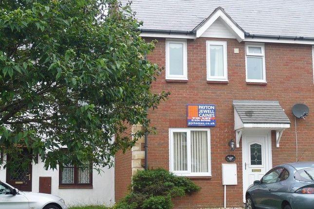 Thumbnail Terraced house to rent in Trem-Y-Dyffryn, Broadlands, Bridgend