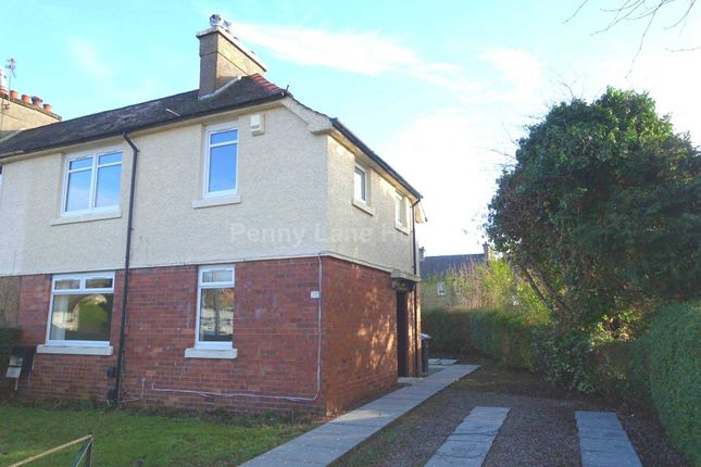 Thumbnail Semi-detached house to rent in Fauldshead Road, Renfrew