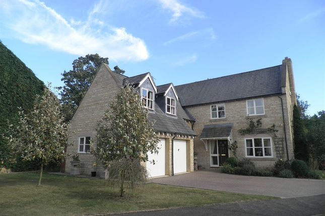 Thumbnail Detached house for sale in Laxton Drive, Oundle, Peterborough