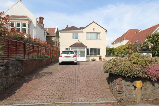 Thumbnail Detached house to rent in Hollybush Road, Cardiff