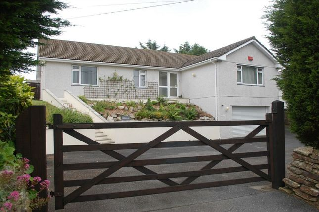 Thumbnail Detached bungalow for sale in Carpalla, Foxhole, St Austell, Cornwall