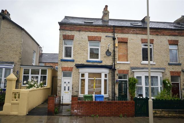 Thumbnail End terrace house for sale in Prospect Road, Scarborough