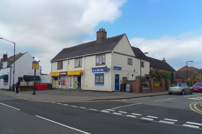 Thumbnail Retail premises for sale in Bridge Street, Polesworth, Tamworth