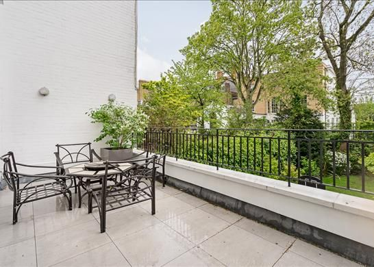 Terrace of Bedford Gardens, Kensington, London W8