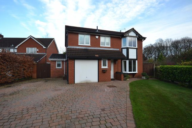 Thumbnail Detached house for sale in 149 Shackleton Close, Old Hall, Warrington