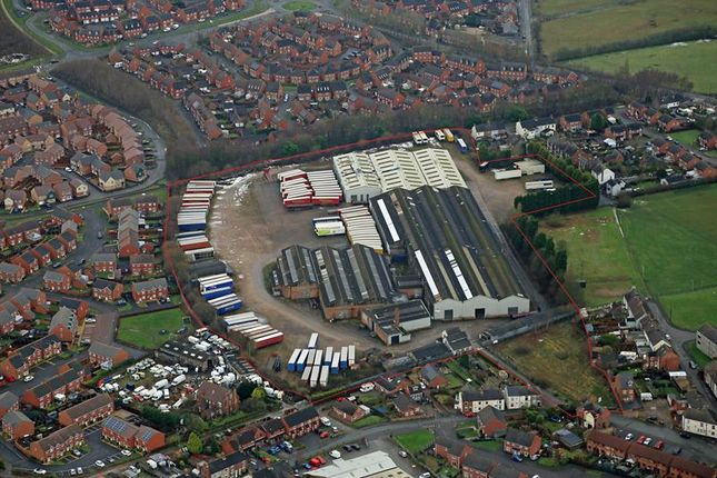 Thumbnail Light industrial for sale in Former Montracon Site, Thorn Street, Woodville, Swadlincote, Derbyshire