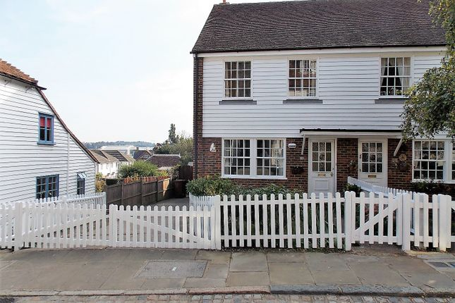 Thumbnail Semi-detached house for sale in High Street, Upper Upnor, Rochester