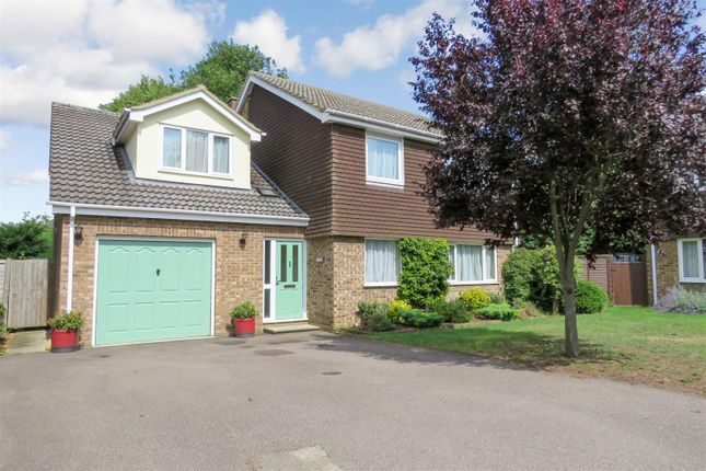 Thumbnail Detached house for sale in Birch Close, Broom, Biggleswade