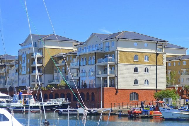 Thumbnail Flat for sale in Hamilton Quay, Sovereign Harbour, Eastbourne