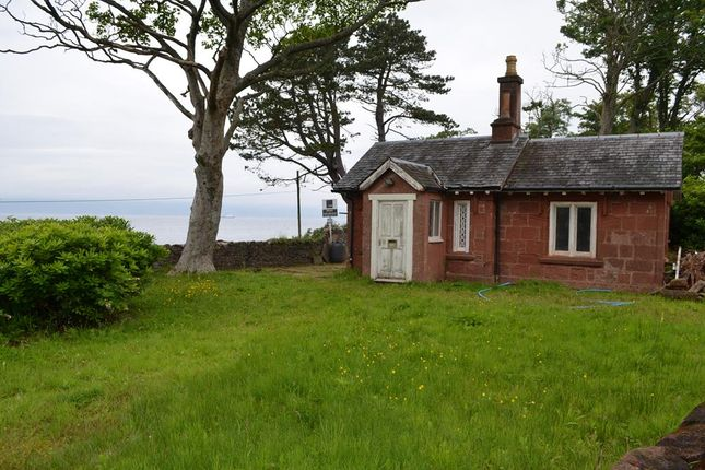 Thumbnail Lodge for sale in Shore Road, Skelmorlie