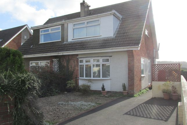 Thumbnail Semi-detached house for sale in Derwent Drive, Cwmbach, Aberdare