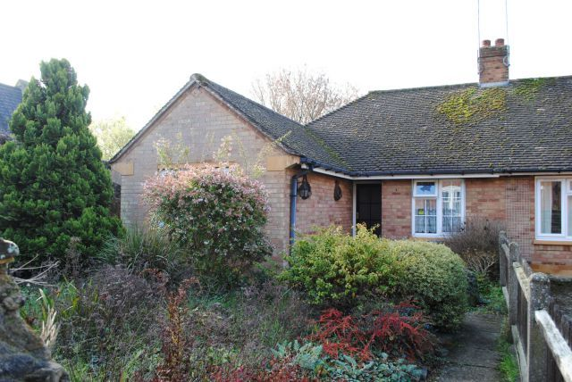 Thumbnail Semi-detached bungalow for sale in Kingswell Road, Kingsthorpe, Northampton