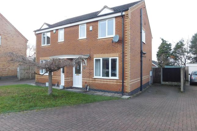 Thumbnail Semi-detached house to rent in Earlswood Drive, Mansfield