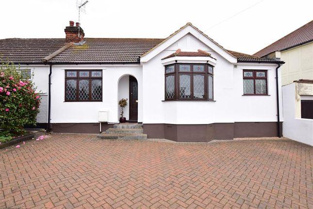 Thumbnail Semi-detached bungalow for sale in Sandown Avenue, Hornchurch, Essex