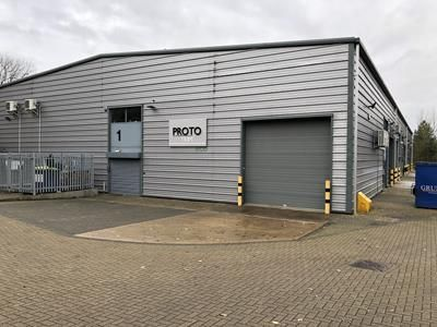 Thumbnail Warehouse for sale in Unit 1 Deeping Gate, Fingle Drive, Stonebridge, Milton Keynes