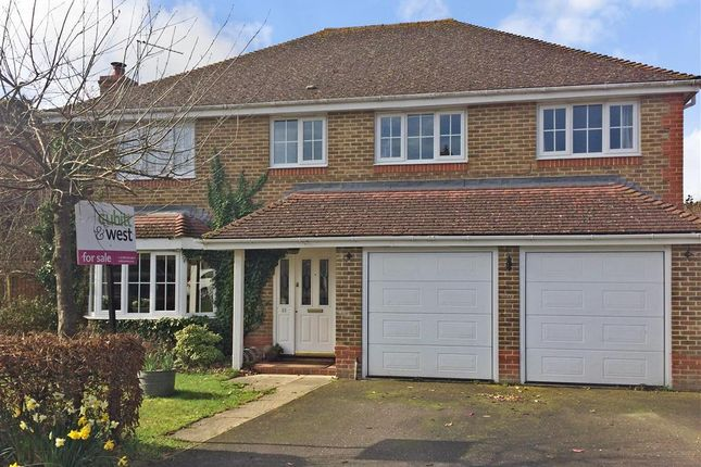 Thumbnail Detached house for sale in Willard Way, Ashington, West Sussex