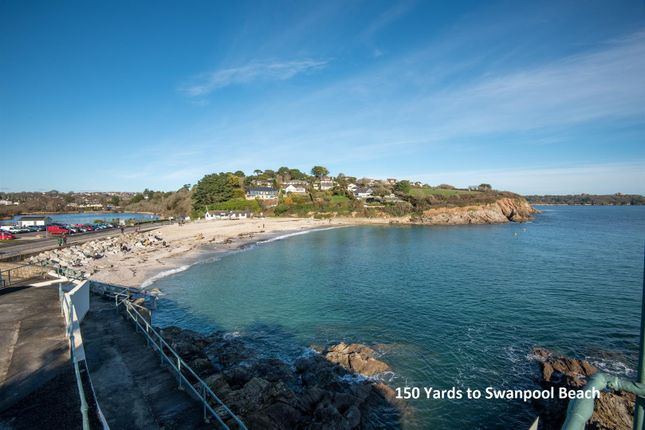 Swanpool Beach of Tremorvah Park, Swanpool, Falmouth TR11