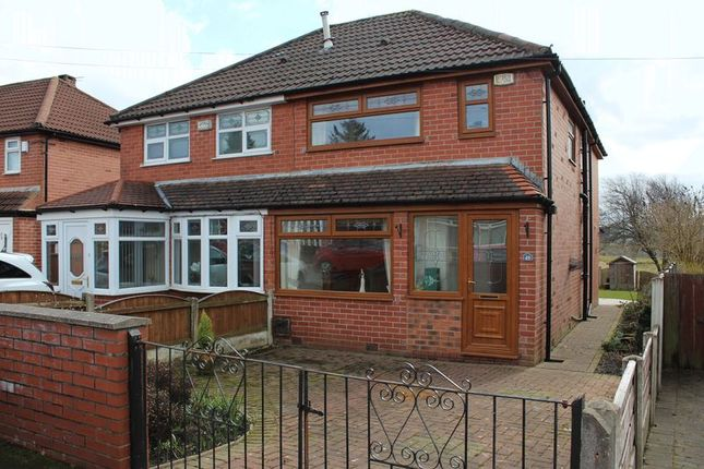 Thumbnail Semi-detached house for sale in Knowl Road, Firgrove, Rochdale