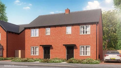 Thumbnail Semi-detached house for sale in The Weston, Pound Lane, Worcestershire