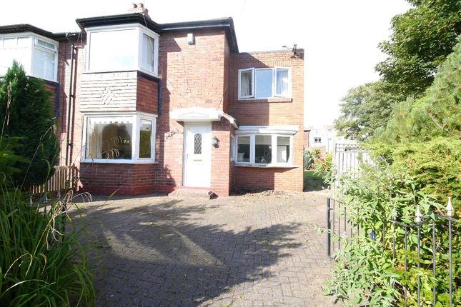 Thumbnail Semi-detached house to rent in Ridgewood Crescent, Gosforth, Newcastle Upon Tyne