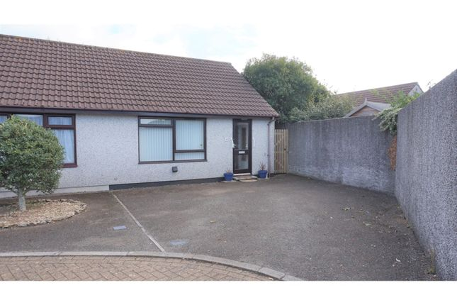 Thumbnail Semi-detached bungalow for sale in Moorland Close, Liskeard