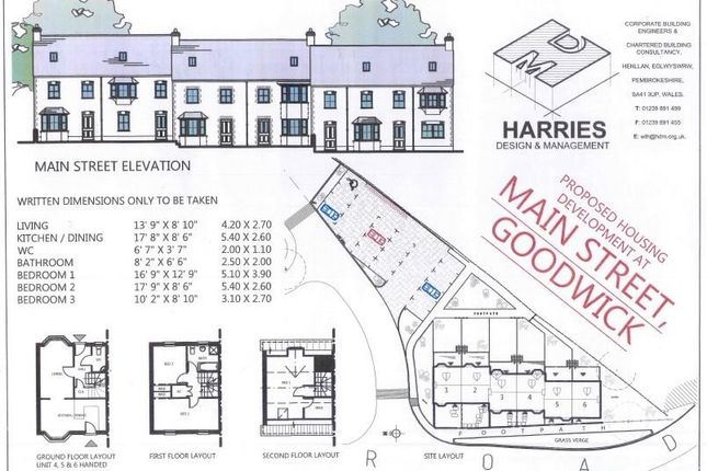 Jpeg Of Plans of Units 1-6 Main Street, Goodwick, Pembrokeshire SA64