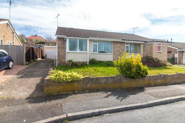 Thumbnail Semi-detached bungalow for sale in Moat Farm Road, Folkestone