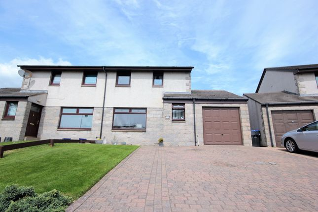 Thumbnail Semi-detached house for sale in Cairnwell Drive, Portlethen
