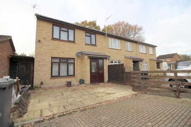 Thumbnail Semi-detached house to rent in Corby Drive, Egham