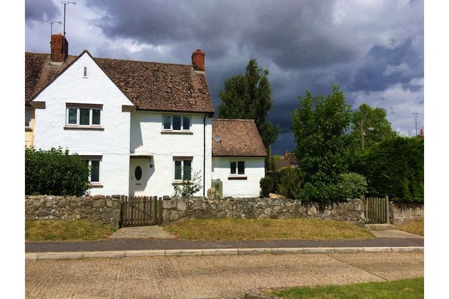 Thumbnail End terrace house to rent in Knights Close West Overton, Marlborough