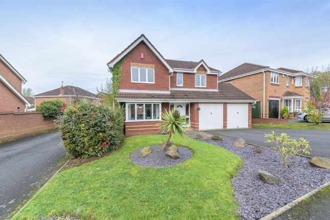 Thumbnail Detached house for sale in Hookacre Grove, Priorslee, Telford, Shropshire