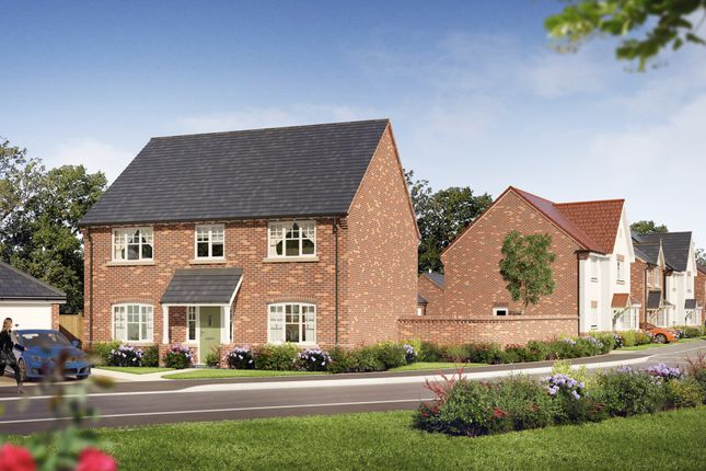 Thumbnail Detached house for sale in Plot 21 Hardwick At Oaklands Park, Wyaston Road, Ashbourne, 1Sd