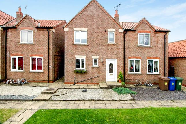 Thumbnail Semi-detached house for sale in Reynard Close, Cranswick, Driffield