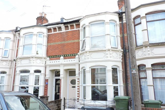 Thumbnail Terraced house to rent in Liss Road, Southsea