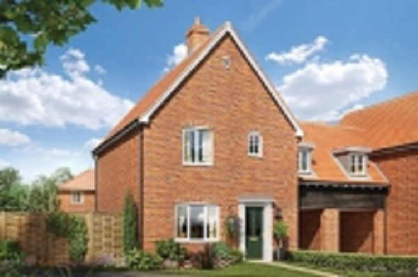 Thumbnail Link-detached house for sale in Cromer Road, Holt, Norfolk