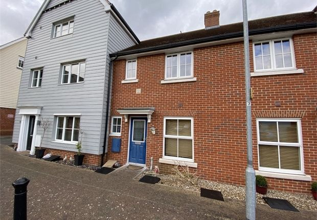 Thumbnail Terraced house for sale in Weetmans Drive, Colchester, Essex