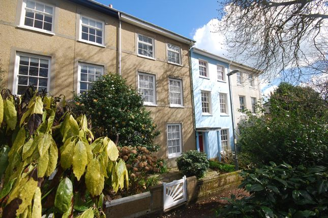 Thumbnail Town house for sale in Cornwall Terrace, Penzance