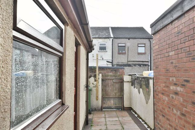 Outside Rear of Youd Street, Leigh WN7