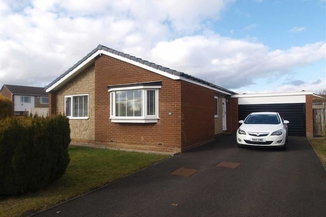 Thumbnail Detached bungalow for sale in Raynham Close, Cramlington