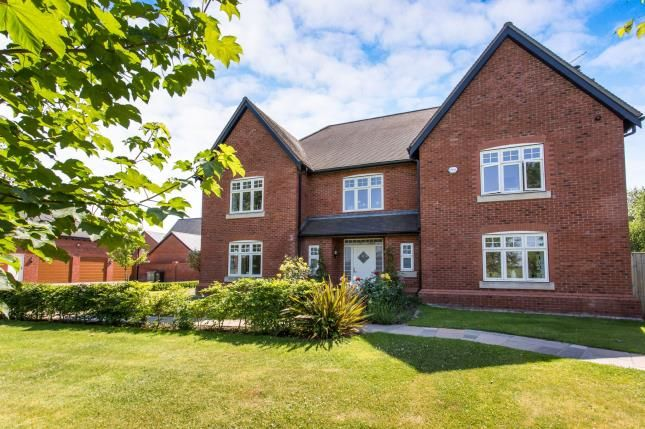 Thumbnail Detached house for sale in Meadowside, Smallwood, Sandbach, Cheshire