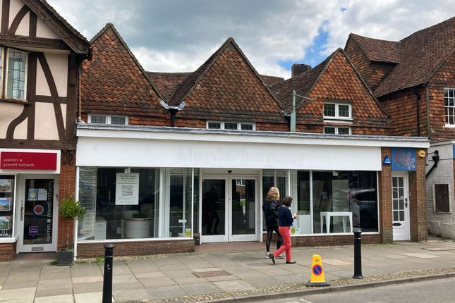 Thumbnail Retail premises to let in High Street, Haslemere