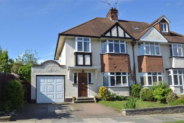 Thumbnail Semi-detached house for sale in Ewan Way, Leigh-On-Sea, Essex