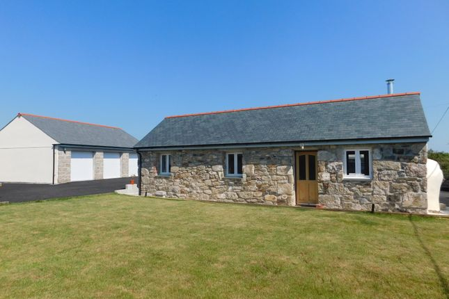 Thumbnail Detached bungalow for sale in Trenerth Road, Leedstown, Hayle
