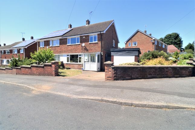 Thumbnail Semi-detached house for sale in Meadow Road, Blidworth, Mansfield