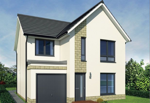 Thumbnail Detached house for sale in Duffus Heights, Elgin