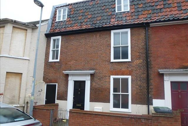 Thumbnail Terraced house to rent in Middle Market Road, Great Yarmouth