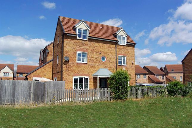 Thumbnail Detached house for sale in Goodheart Way, Braunstone, Leicester