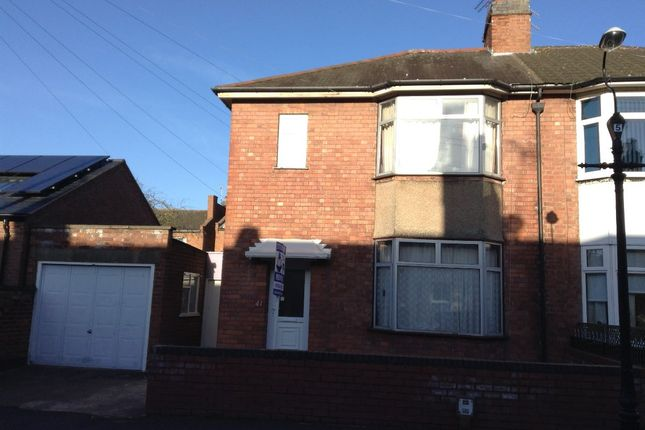 Thumbnail Semi-detached house to rent in 41 Plymouth Place, Leamington Spa